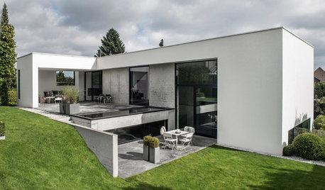 Houzz Tour: Imponerende stilfuldt hus for familien i Risskov