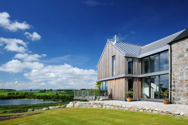 Skandinavisk Hus & facade by VELFAC