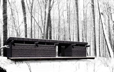 Houzzフォト:雪のなかにたたずむ美しい住宅 40選