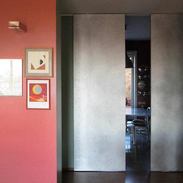 Apertura degli spazi di un grande e colorato appartamento | 160 MQ