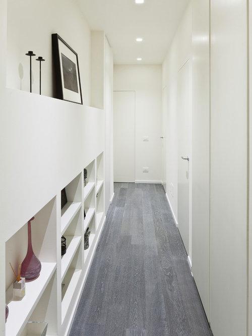 Foto e idee per ingressi e corridoi ingresso o corridoio for Arredare un ingresso stretto