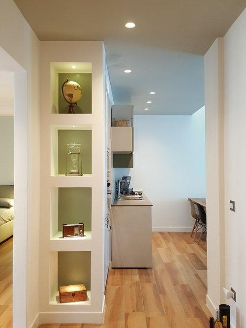 Foto e idee per ingressi e corridoi ingresso o corridoio - Disegnare casa parquet recensioni ...