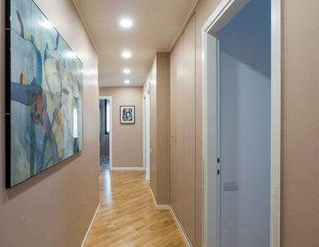 Il colore e l'equilibrio nel recupero di un appartamento milanese
