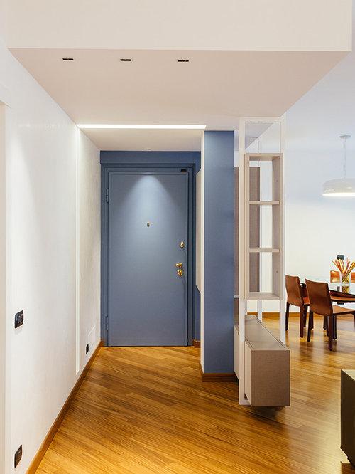 Foto e idee per ingressi e corridoi ingresso o corridoio for Ingresso casa moderno