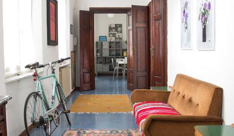 My Houzz: Tappeti di Guerra e Bici, La Casa di Cosimo è Come Lui