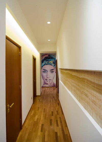 Contemporary Hall by GRUPPO CACTUS