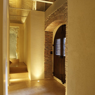 Example of a trendy hallway design in Other