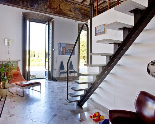 Foto e idee per ingressi e corridoi ingresso o corridoio - Abbellire ingresso esterno ...