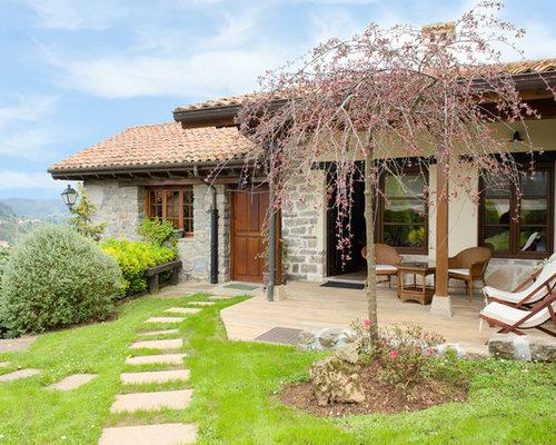 Fotos de jardines dise os de jardines de estilo de casa for Jardines en casas pequenas fotos