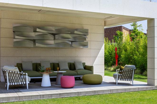 Contemporáneo Jardín by Sánchez + Sánchez Proyectos