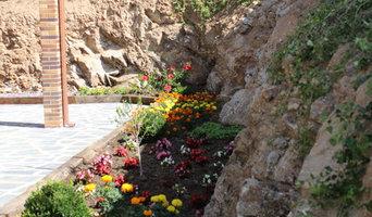Jardin Astilla de Colores ( Piscina)