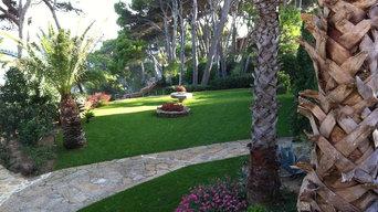 Jardín en Torrevalentina