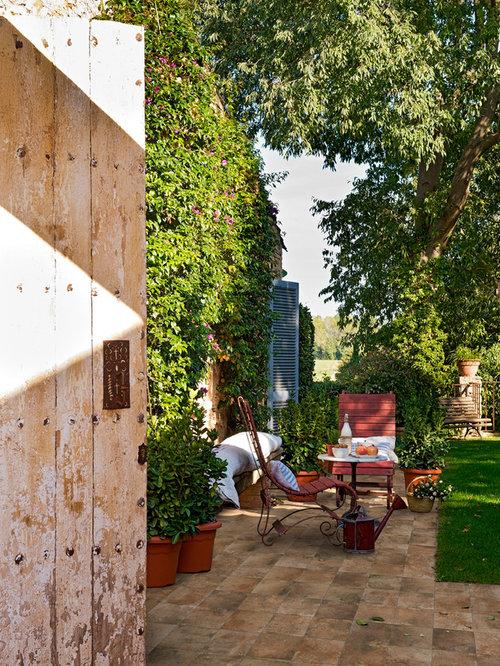 Fotos de jardines dise os de jardines de estilo de casa for Jardines exteriores de casas de campo