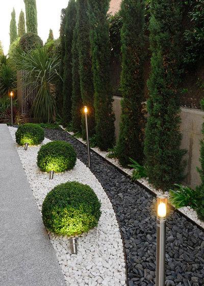 Contemporáneo Jardín by Fernando Pozuelo Landscaping Collection