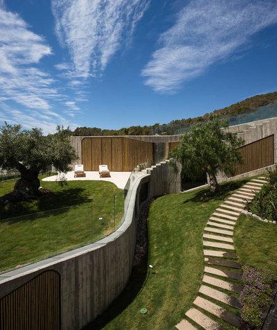 Contemporáneo Jardín by Metroarea Architetti