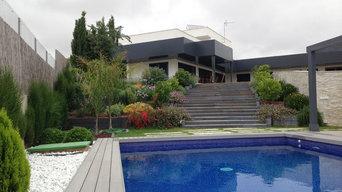 Vista General desde la piscina