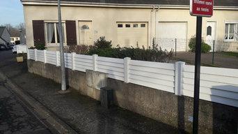 Clôture et portail PVC