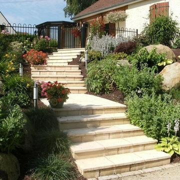 Escalier campagnard