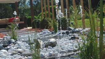 Espace fontaine dynamique