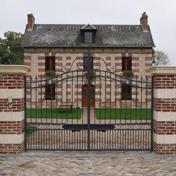 Fabrication de portails ferronnerie
