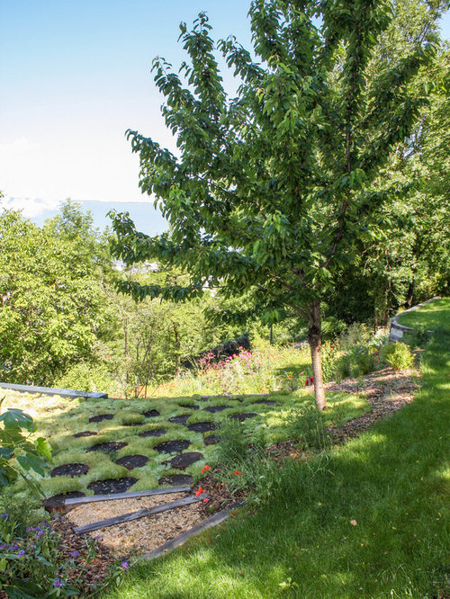 Grenoble Sloped Garden Design Ideas, Pictures & Inspiration