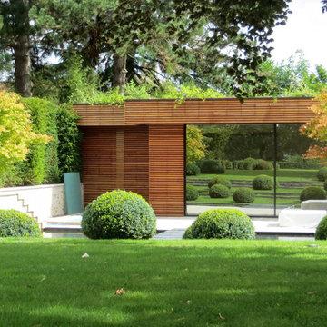 jardin à Fontainebleau