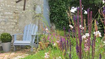 Jardin à l'ambiance naturelle