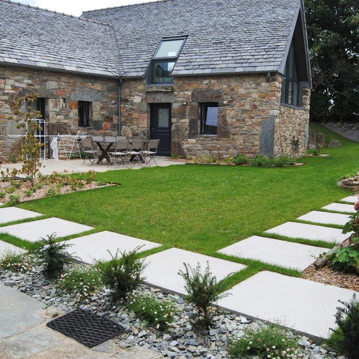 Jardin champêtre & moderne