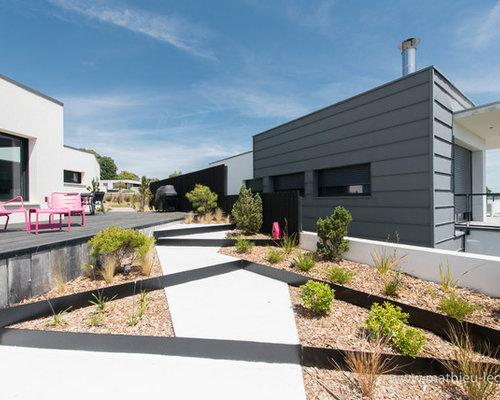 jardin contemporain photos et id es d co de jardins. Black Bedroom Furniture Sets. Home Design Ideas