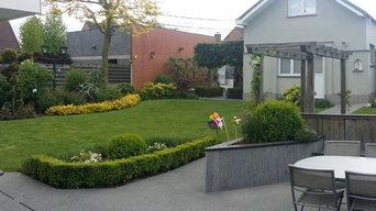 Jardin de 400m²