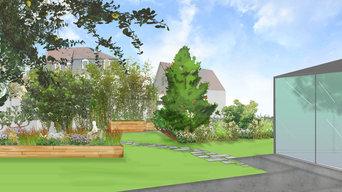 Jardin Fruitier, Jardin contemporain