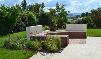 Jardin Moderne et épuré