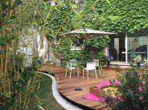 perfekt unperfekt eine gr ne dachterrasse mit ausblick ber brooklyn. Black Bedroom Furniture Sets. Home Design Ideas
