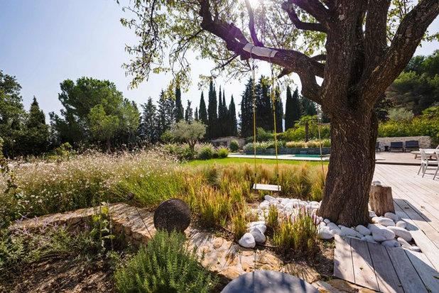 Современный Сад by Agence MORVANT & MOINGEON Paysagistes Concepteurs