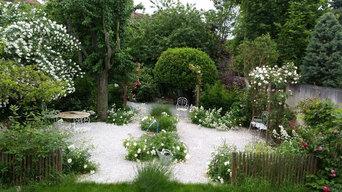 jardin tout en longueur / APRES