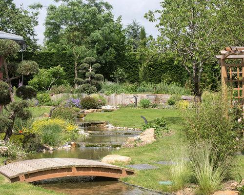 Jardin asiatique photos et id es d co de jardins for Grand jardin zen