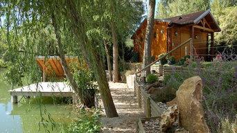 Jardins et cabanes