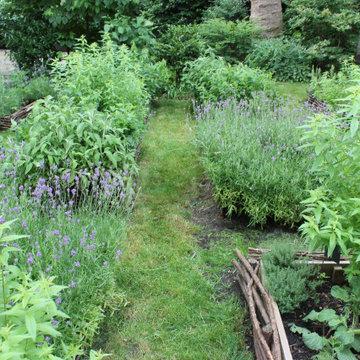 Le jardin de tisanes des Comptoirs Richard - Paris 15éme