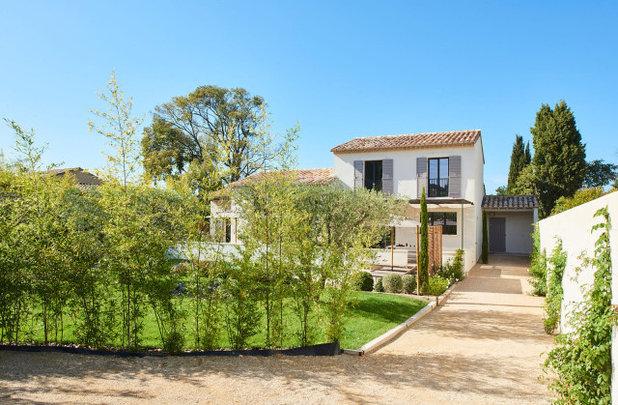 Contemporain Jardin by Agence POBA - Pierre Olivier Brèche Architectures