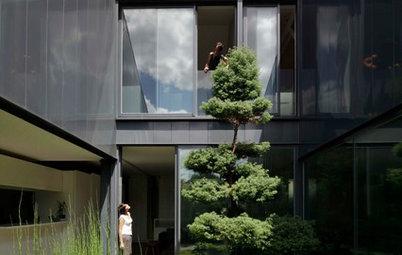 Architecture : La maison Yume, un ancien garage joue avec les reflets