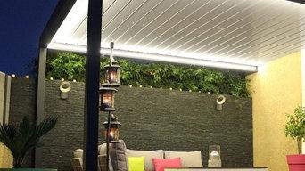 Pergola bioclimatique Lounge en aluminium