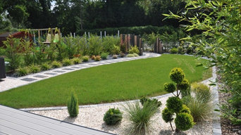 Petit jardin contemporain