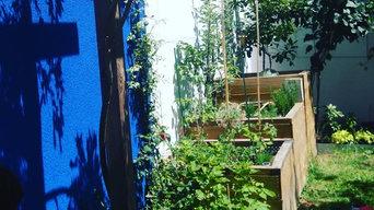Petit jardin écologique à Paris
