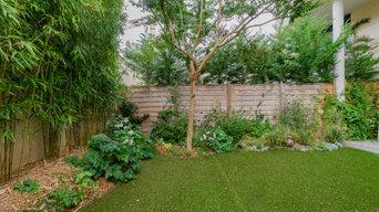 """Petit jardin urbain, """"un jardin à vivre"""""""