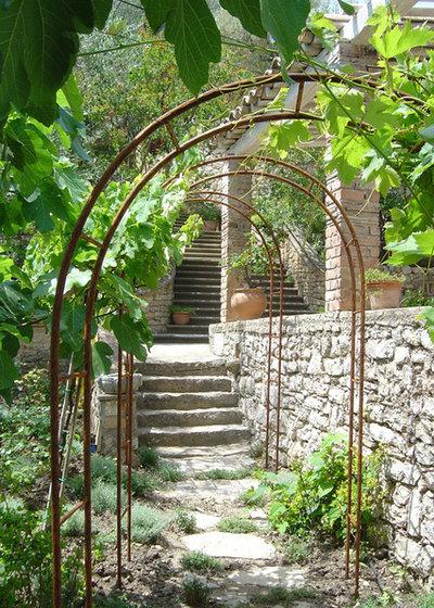 Mediterranean Garden by Atelier Nelumbo Garden Design