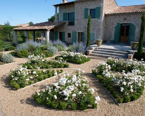 Jardin méditerranéen avec du gravier : Photos et idées ...