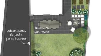 / Sébastien / Créer de nouveaux lieux de vie autour d'une maison neuve