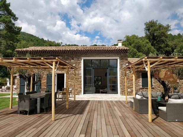 Mediterraneo Giardino by Nathalie Odiot Architecture d'Intérieur