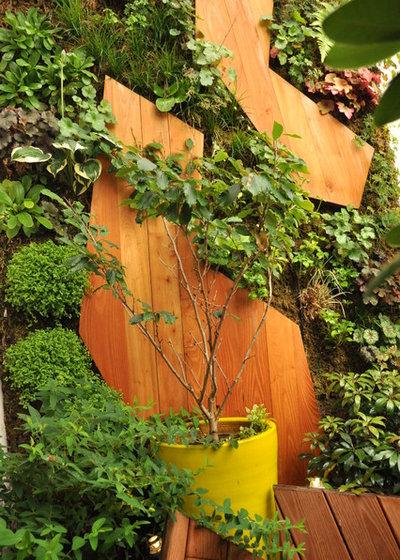 Contemporain Jardin by ATELIER DLV - Paysagiste concepteur