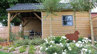 Un jardin au coeur de la Pévèle réalisé par Symbiose Paysage Nord